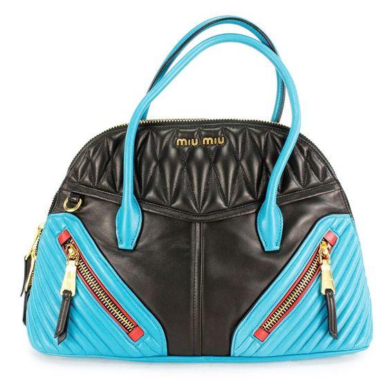 Miu Miu And Blue Women's Shoulder Bag  Diese und weitere Taschen auf www.designertaschen-shops.de entdecken