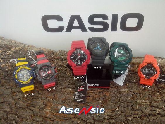 ¿TE CREES MUY DURO CHAVAL? En los relojes G-Shock, el estilo y la fuerza van de la mano. Los relojes G-Shock son los más duros de su clase. Atrévete con ellos. ¡¡¡ Es la hora de CASIO !!! Y ahora llévate el tuyo con un 10% de descuento, y con nuestra Tarjeta Amiga, un 5% extra de descuento.