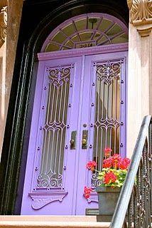 Interesting door in Brooklyn