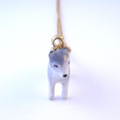 Forest Wolf Necklace