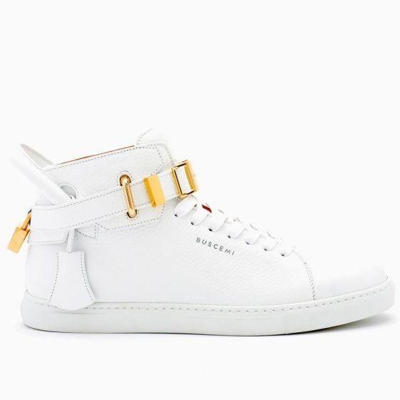 100MM Core Clip White Sneakers