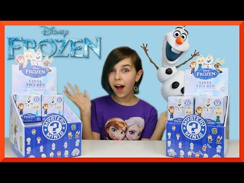 Disney Frozen Funko Mystery Minis Surprise Blind Box Unboxing PT2 - YouTube