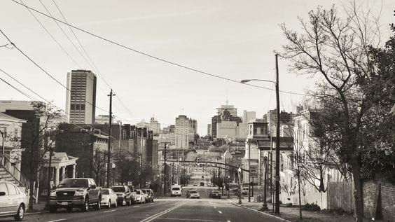 Downtown Richmond.