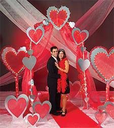 Valentine 39 s day party decorations valentines valentines Valentine stage decorations