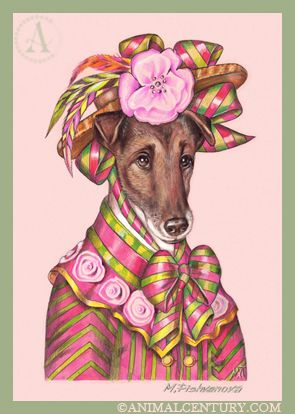 Smooth Fox Terrier, Lady Flora #dog Dog Art Collection