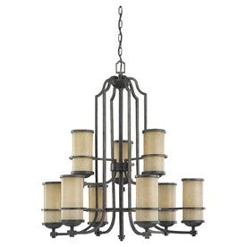 Sea Gull Lighting�9-Light Roslyn Flemish Bronze Chandelier