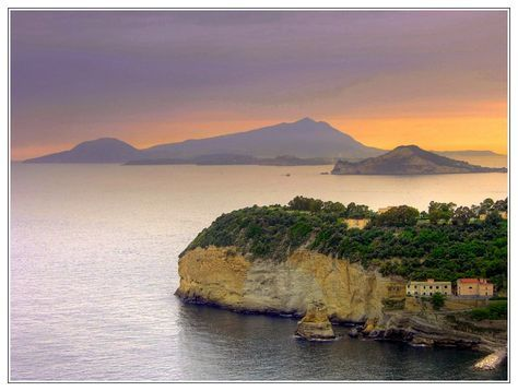 Posillipo Capo Miseno Procida Ischia Napoli Italia