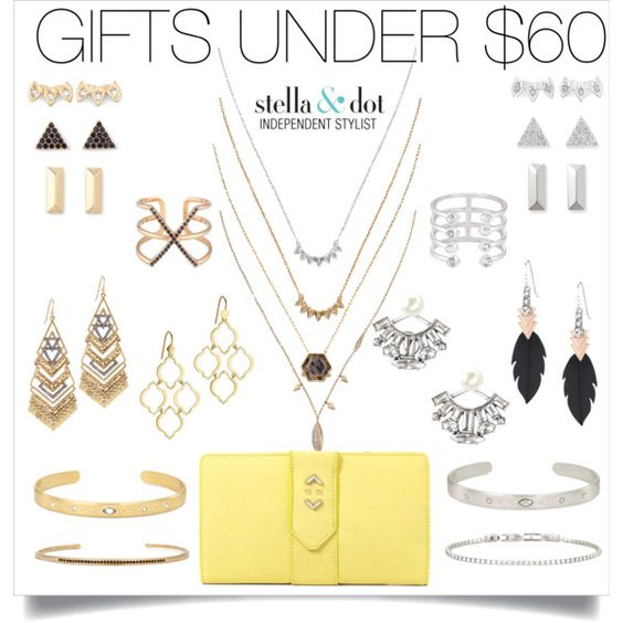 Half our line is $60 or less! #greatgifts #stelladotstyle #giftsunder$60