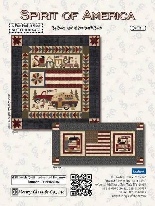 Fabric Lines Shipping Now Spirit Of America Henry Glass