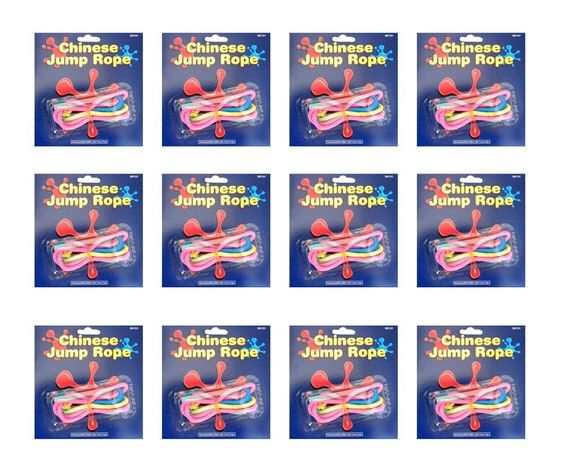 """Amazon.com: 28"""" Chinese Jump Rope (pack of 12): Toys & Games"""