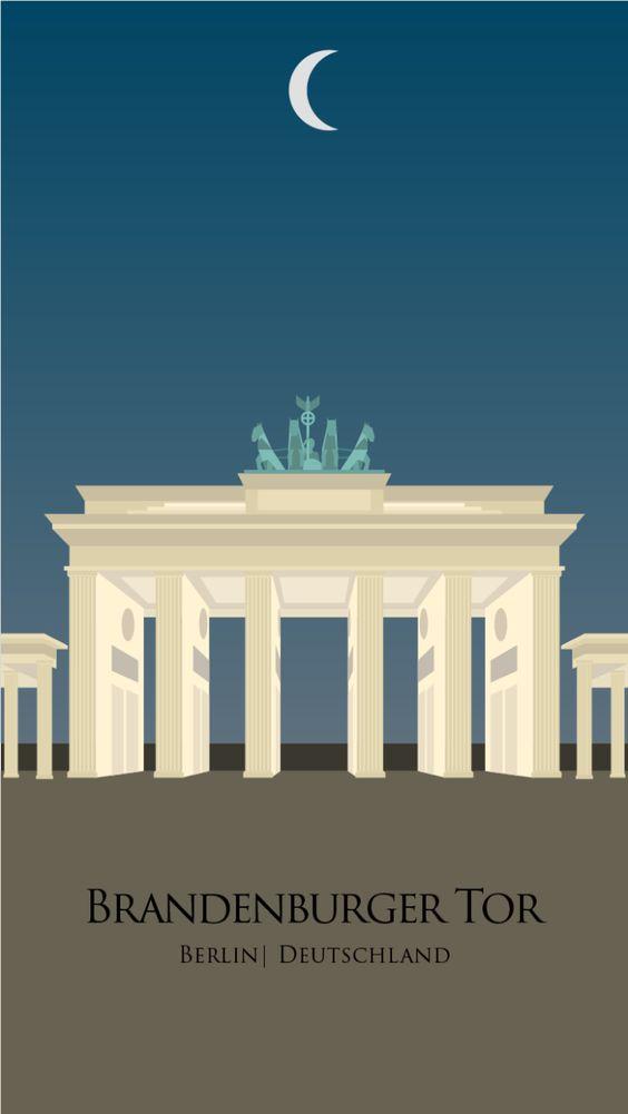 Portão de Brandemburgo - Berlim, Alemanha  Desenvolvido por: Victor Formaggini
