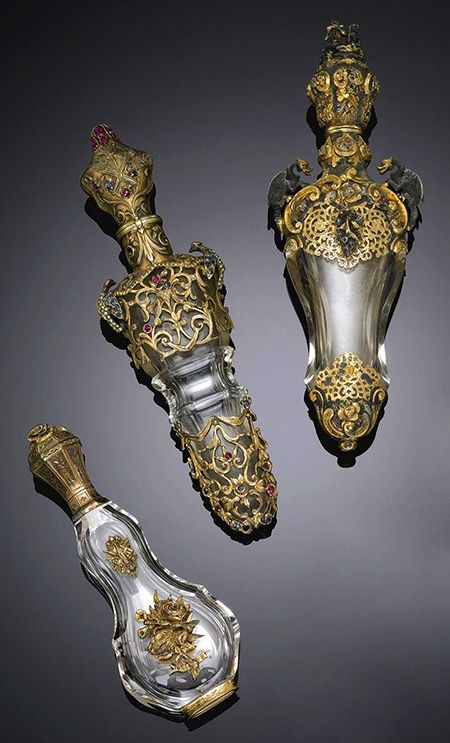 Perfume Bottles, ca 1900, Sotheby's.                                                                                                                                                                                 More