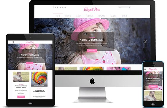 Elegant Pink is a beautifully designed WordPress theme. The theme is fully responsive for mobile devices and is packed with countless features like social media integration, custom widgets and infinity scroll. Make your website unique with various customization options and impress your visitors with a dynamic and appealing Pinterest styled layout.