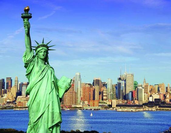 Estatua de la Libertad - New York EEUU USA.