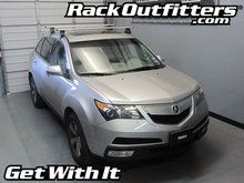 Acura MDX Thule Rapid Traverse SILVER AeroBlade Roof Rack '07-'13*
