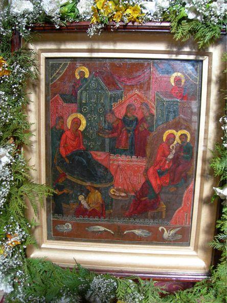 икона Божьей Матери «РОЖДЕСТВО БОГОРОДИЦЫ» ЛУКИАНОВСКАЯ