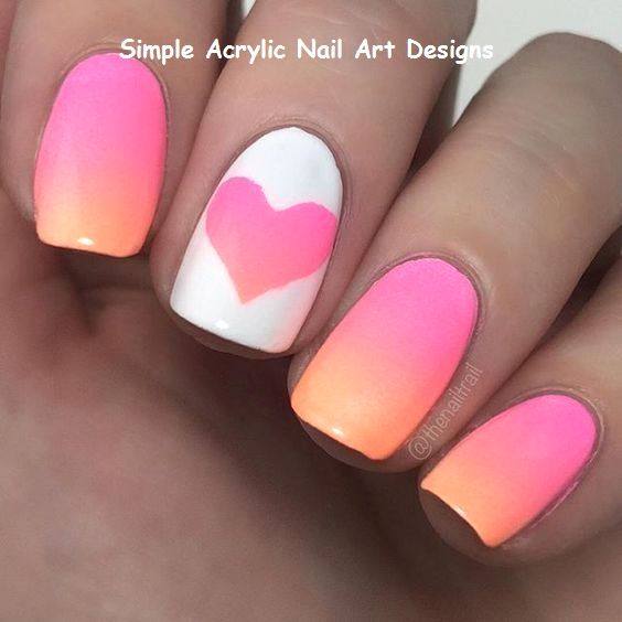 20 Great Ideas How To Make Acrylic Nails By Yourself 1 Cute Summer Nail Designs Pretty Nail Art Designs Pretty Acrylic Nails