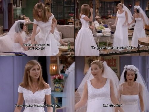 Friends The One With Wedding Dresses
