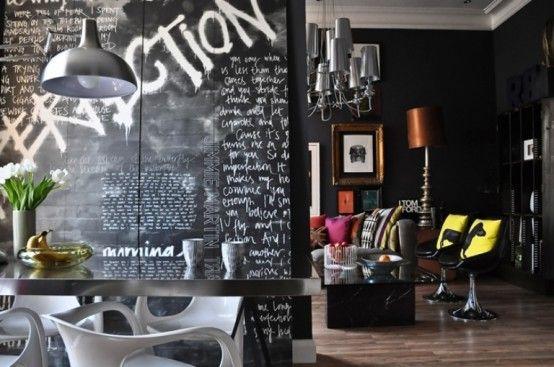 Un apartamento de diseño pop en Londres.