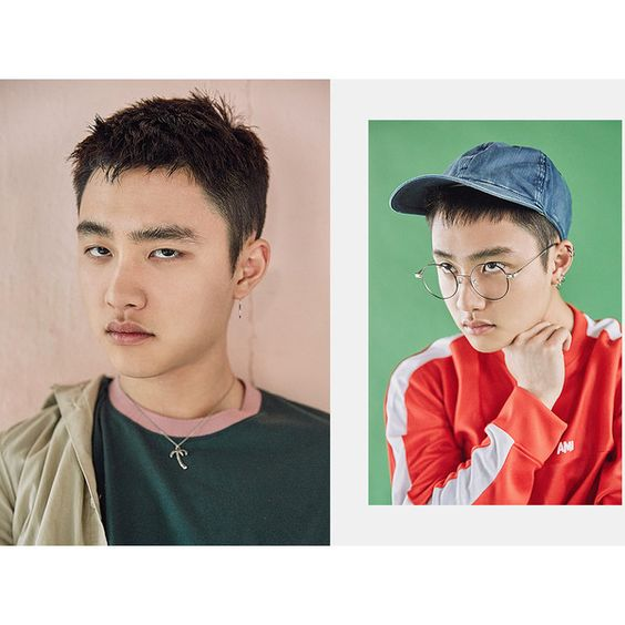 EXO's 'Lucky One' pic teasers have all the members looking faded as... ❤ liked on Polyvore featuring exo and kpop