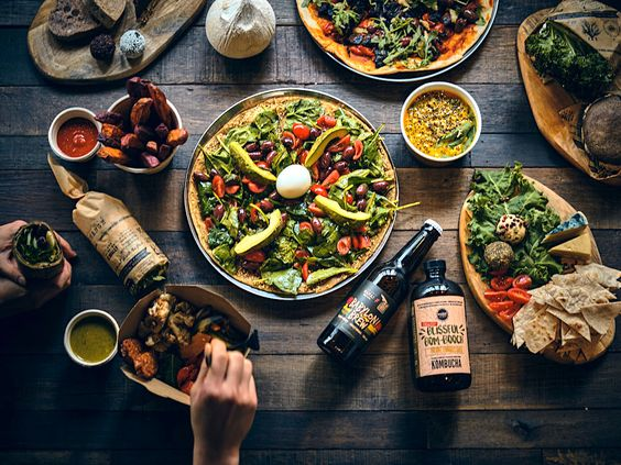 Hong Kong S Mana Opens Largest Restaurant Yet Amid Challenging Market Testament To Growing Plant Based Demand In 2020 Vegetarian Menu Flexitarian Plant Based Recipes