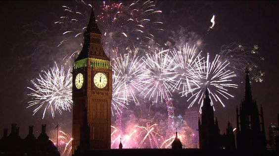 Año Nuevo en Londres
