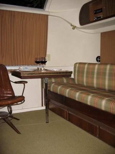 1968 Airstream Overlander - Double Interior