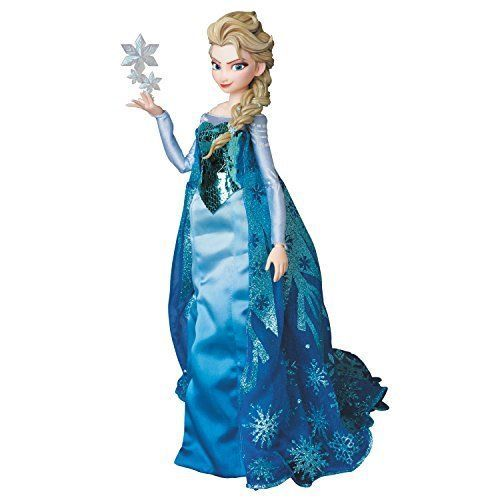 MEDICOM TOY RAH Real Action Heroes Frozen Anna 1//6 Action Figure Japan NEW