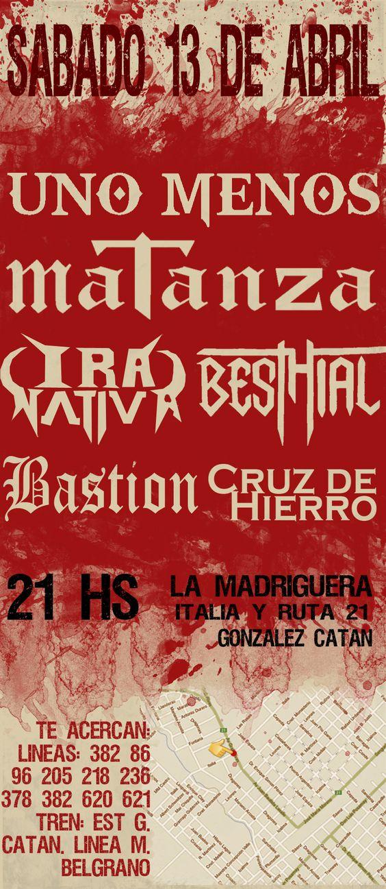 matanza metal | http://www.elsonar.com.ar/mtz_horror
