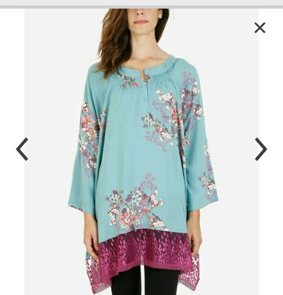 Oriental floral kimono  style  blouse