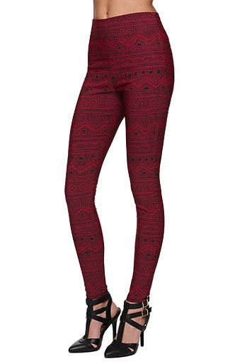Have these and love em!!!! pacsun tribal printed leggings