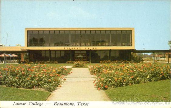 Student Union Building, Lamar College Beaumont Texas