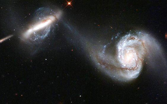 2つの銀河