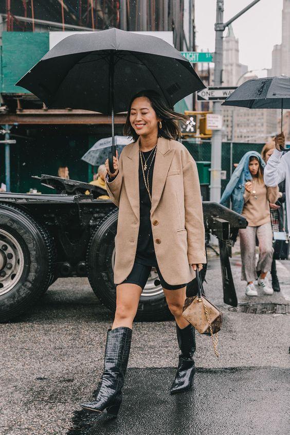 Street Style #NYFW / Día 3 Nunca un otoño inspiró tantas prendas estampadas y mezclas alocadas. El 'street style' de Nueva York es el nuevo manual de moda urbana con todos los trucos para un armario en clave 'working' © Diego Anciano / @collagevintage2