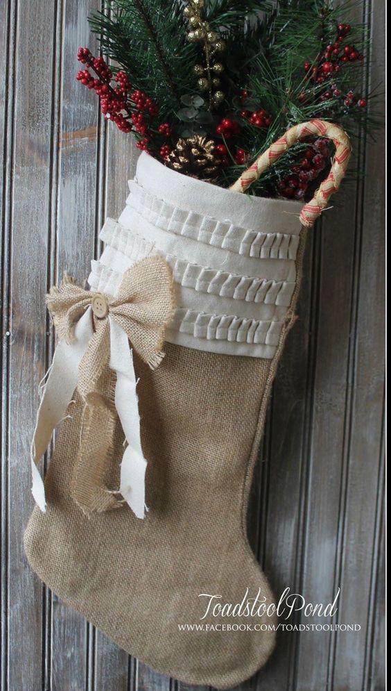 Whimsical Christmas Stocking