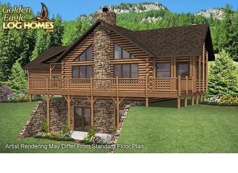 Alaska cabin house plans home design and style for Alaska log home plans