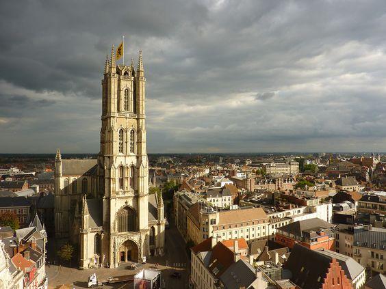 st bavo cathedral in ghent belgium - Szukaj w Google