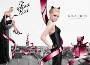 Perfume ads   mylusciouslife.com   jessica stam nina ricci perfume Know your fashion history: Perfume perfection