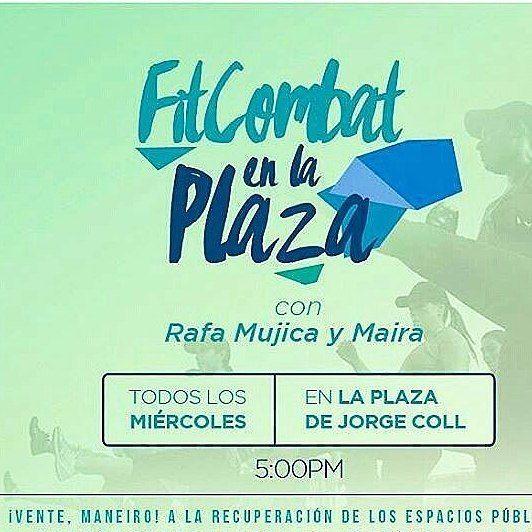 @Regrann from @rafa_mujica -  totalmente gratis en la plaza #Maneiro #OcupacionDeEspaciosPublicos  Lugar: Plaza de Jorge Coll.  Hora: 5:00pm.  Todos los días Miércoles #Regrann