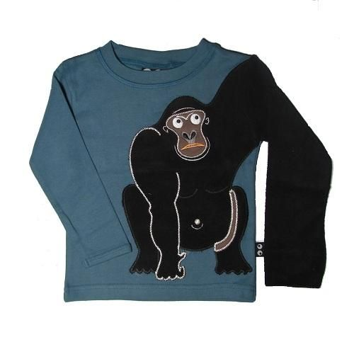 Gorilla sleeved top for boys by Ubang