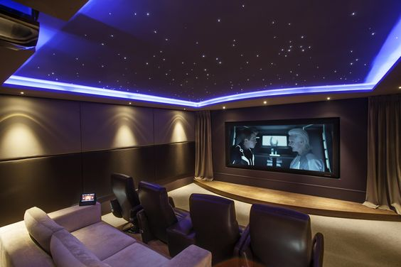 themed home cinema