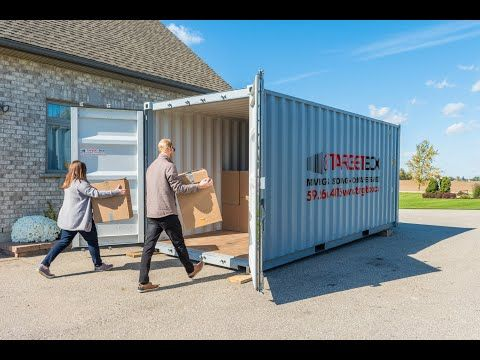 We Believe In Taking The Stress Out Of Your Storage And Moving Needs Weather Resistant Storage Units Delivered To You In 2020 Company Storage Storage Rental Brantford