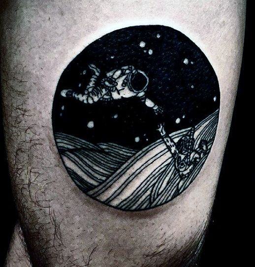 Top 67 Space Tattoo Ideas 2020 Inspiration Guide Outer Space