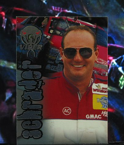 http://nascarniche.blogspot.com/  Ken Schrader 1996 Wheels Viper Trading Card #15 Base Set Nascar