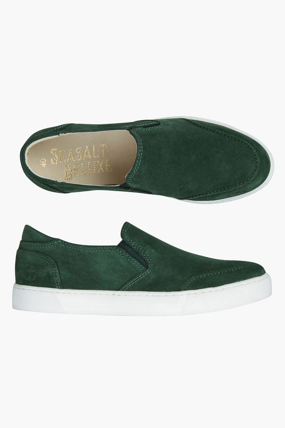 Beautifully soft suede plimsolls for women. In gorgeous Seasalt colours, with…