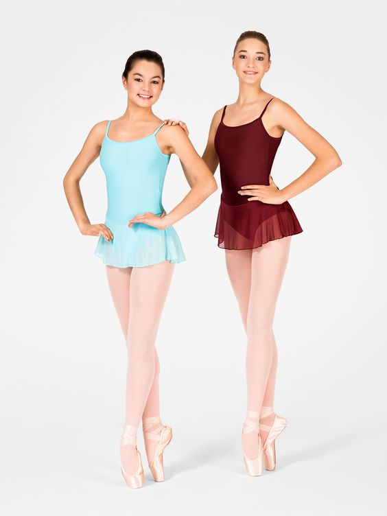 """Free Shipping - """"Sissi"""" Adult V-Back Camisole Dance Dress by WEAR MOI"""