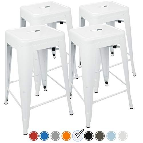 Urbanmod 24 Inch Bar Stools For Kitchen Counter Height I Https Www Amazon Com Dp B01m1kt0qp Ref Cm Sw In 2020 Bar Stools Industrial Bar Stools Kitchen Bar Stools