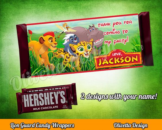 La Guardia del León Invitación para cumpleaños por OlivettaDesign