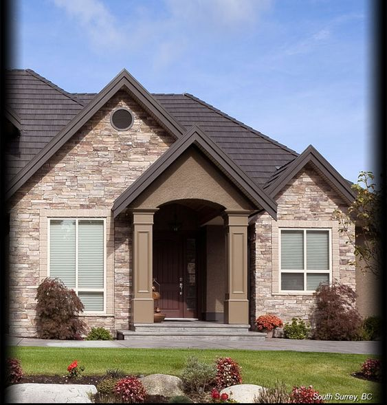 Cultured stone bucks county country ledgestone residential for Exterior ledgestone