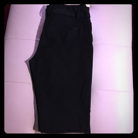 Express Columist pants Express Columist black trousers (gently used) Express Pants Trousers